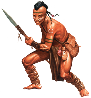 Oijaniha Tribal Warrior