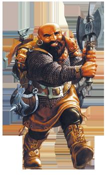 Dwarf Mercenary
