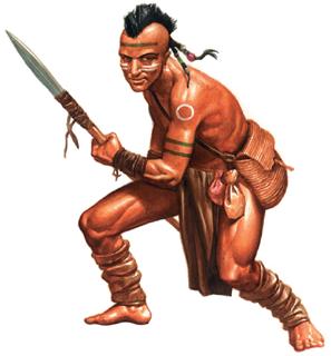 Der Oijaniha-Stammeskrieger